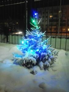 Новый год в Южной Якутии. Нерюнгри