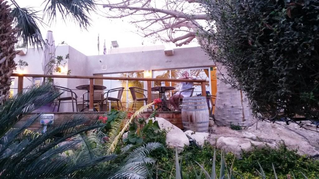 Ресторан в оазисе Эйн Геди