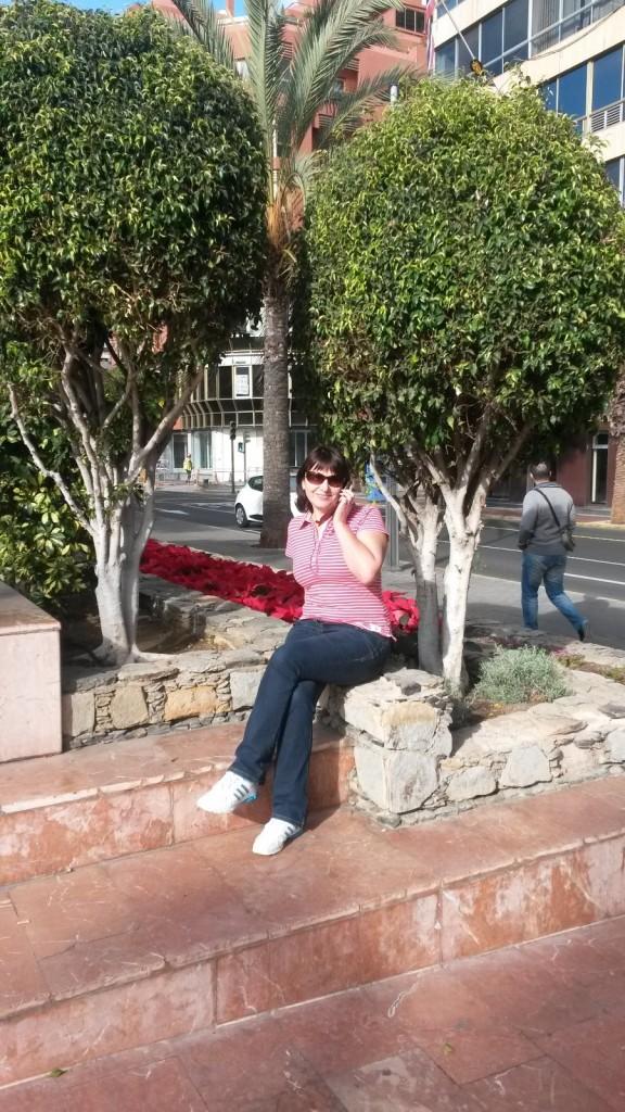 На улицах Лас Пальмас