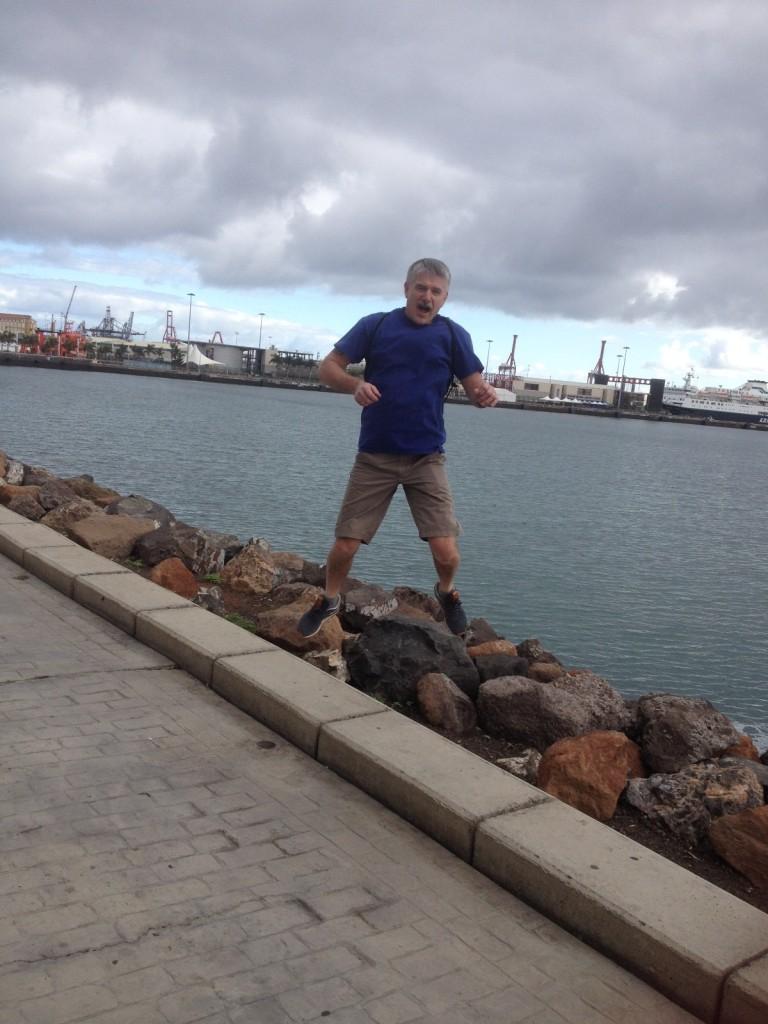 Вид на порт Лас Пальмас