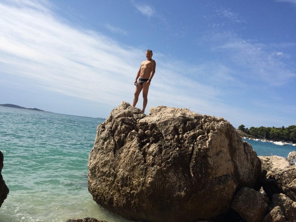Млины, пляж, нырялка