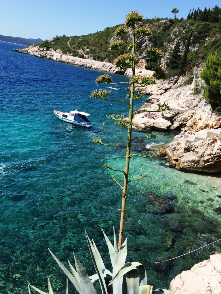 Море в районе Трстено. Хорватия