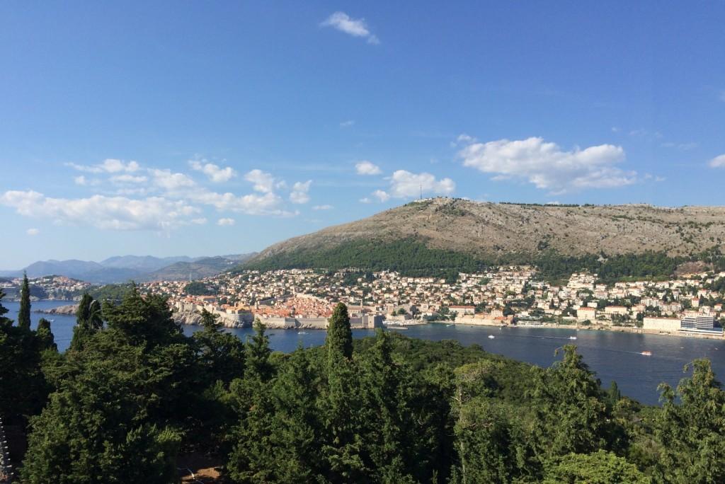 Вид на Дубровник с Форта Роял