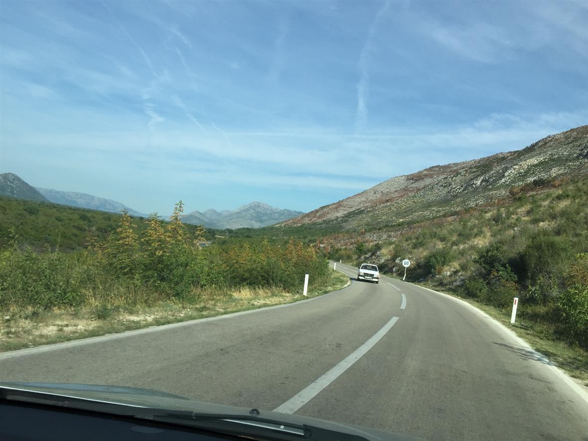 Дорога в Мостар