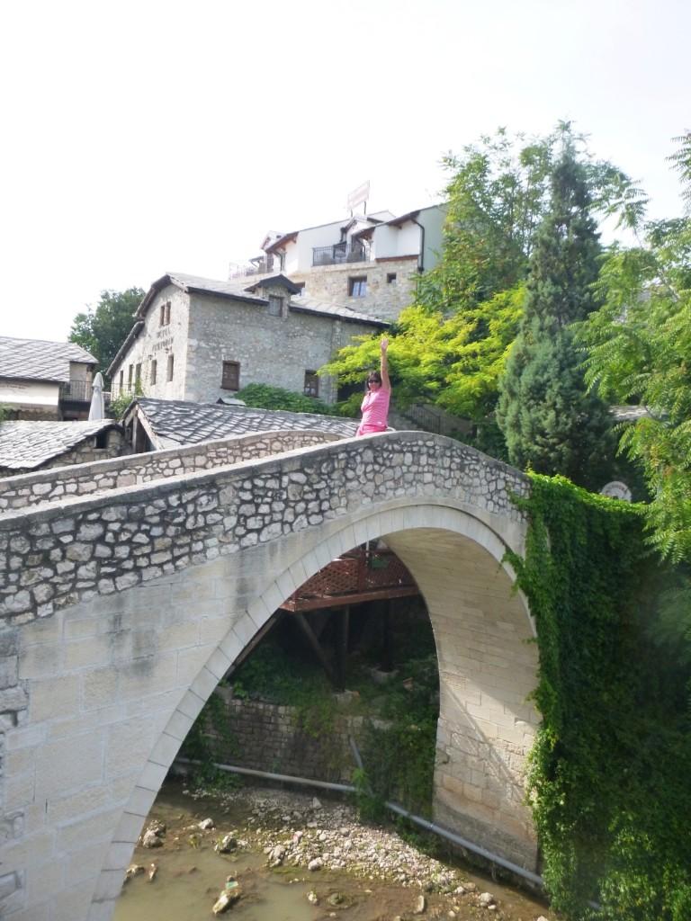 Еще один мостик через приток Неретвы