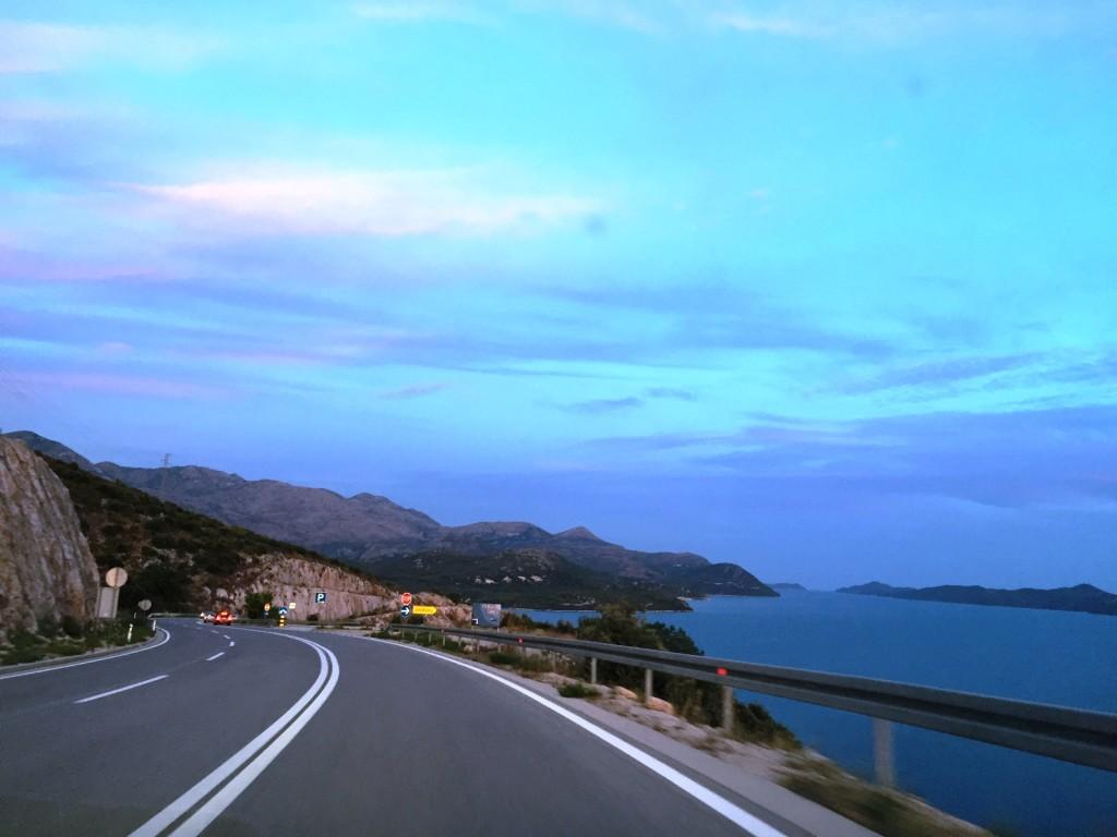 А это уже вдоль побережья Хорватии, домой, в Млины