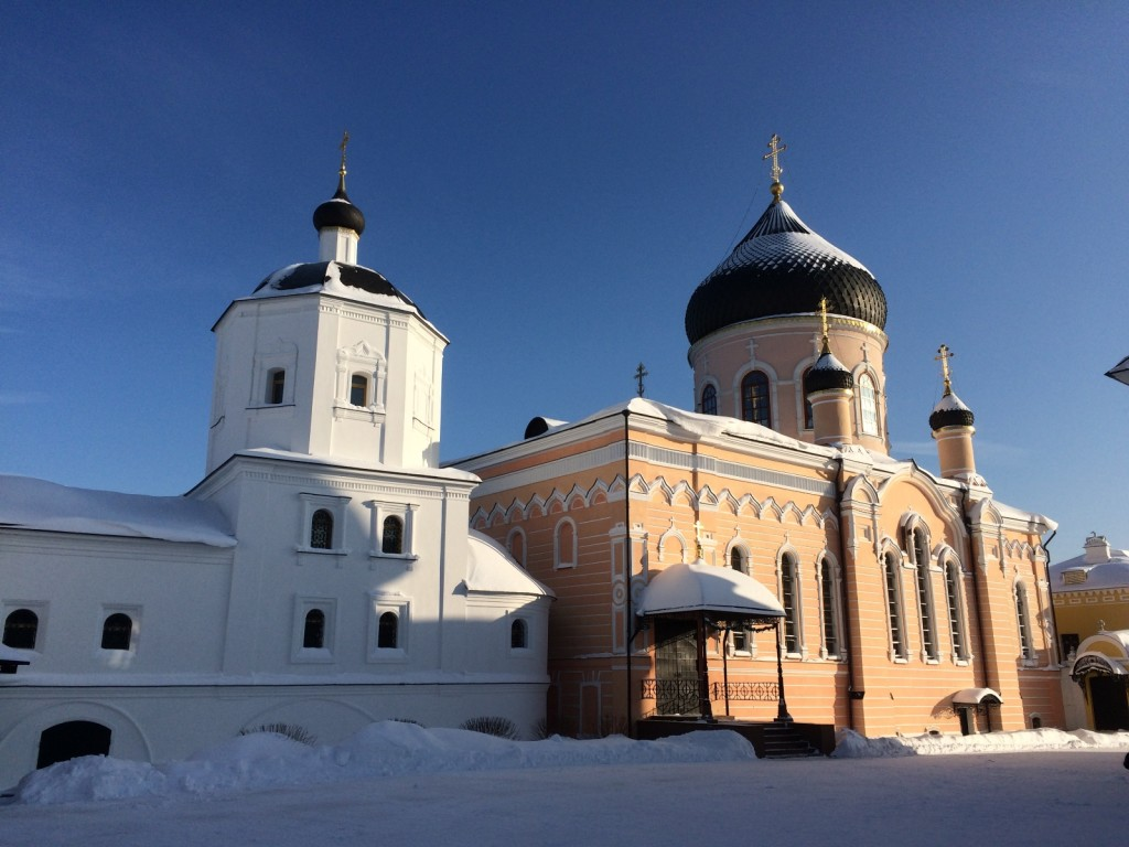 Успенская Церковь и Спасский Собор