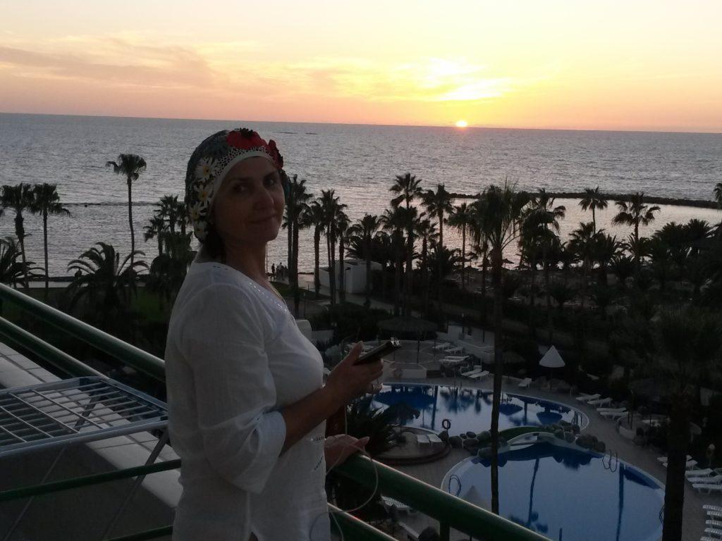 Вид на океан с балкона Altamira