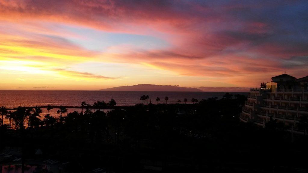 Закат над Ла Гомера