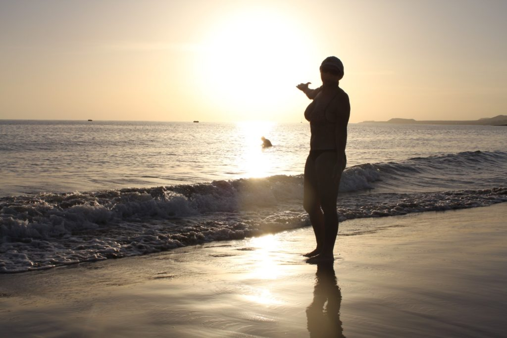 Вот это пляж Ла Техита во всей красе