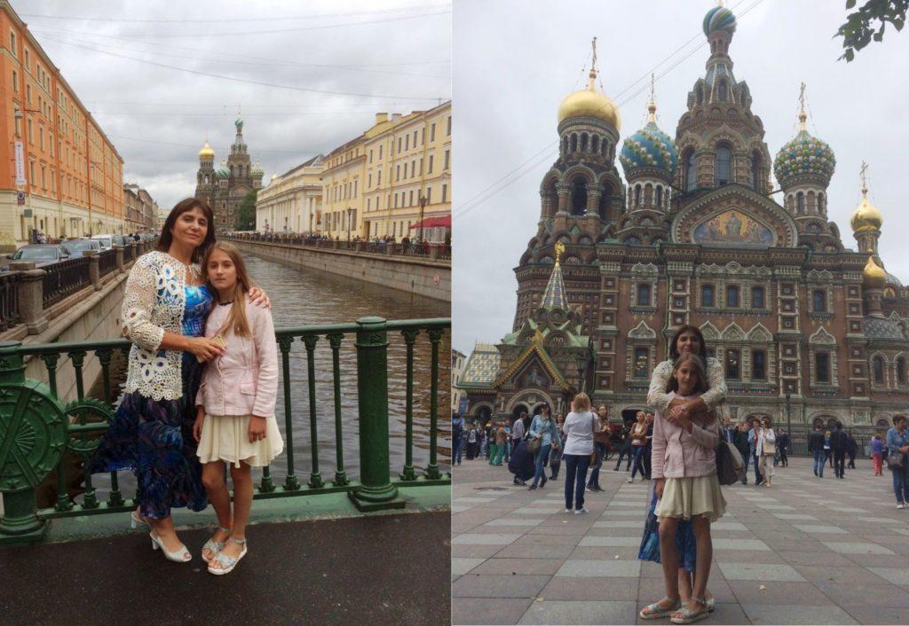 Лучшее украшение Санкт-Петербурга - это, несомненно, мои девочки (ну, для меня, естественно)