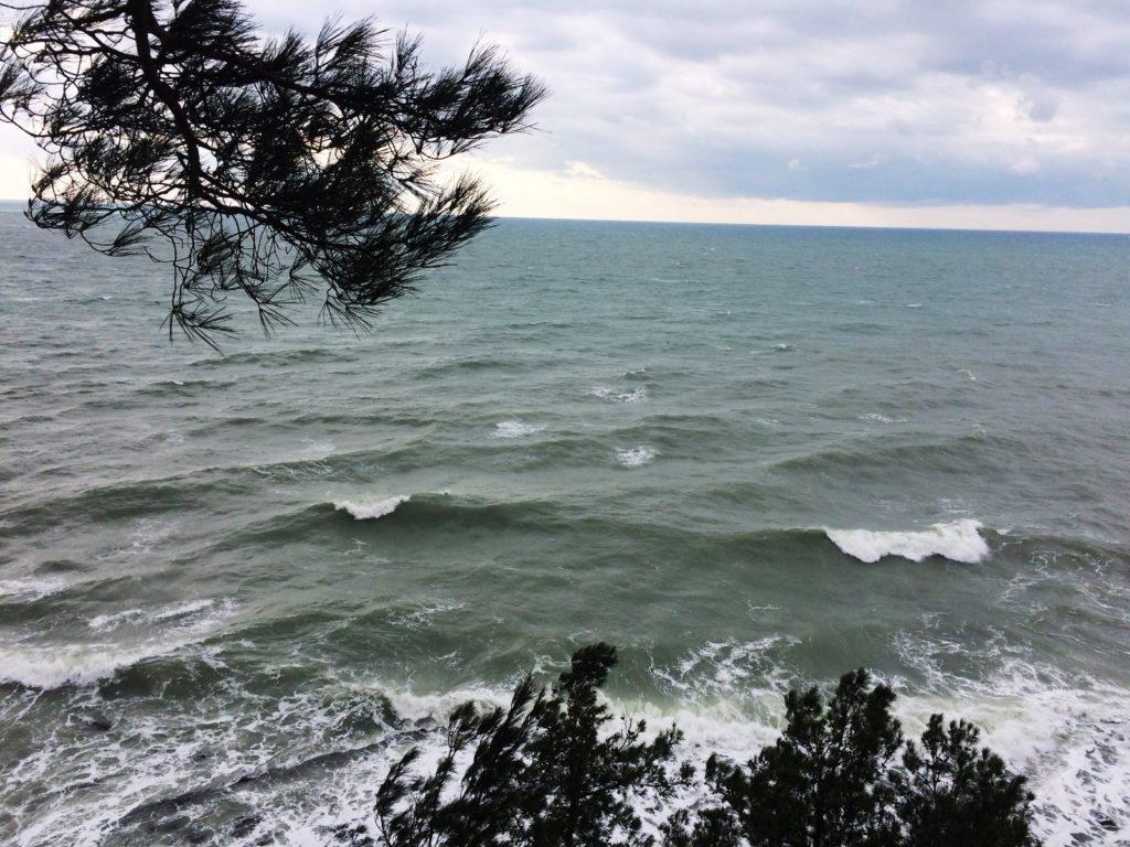 Черное море в январе